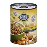 Nature's Recipe Easy to Digest Chicken, Rice and Barley Formula Canned Dog Food (12 Pack), My Pet Supplies