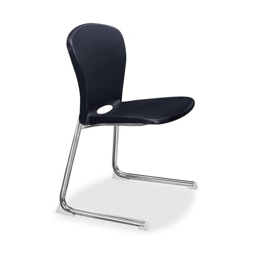 Navy//Chrome Frame S.P HON Student Chair 18 by 17-1//4 by 26-5//8-Inch Richards Company HONCL14CCE91Y 14-Inch High