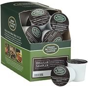 GREEN MOUNTAIN REGULAR VARIETY K CUP COFFEE SAMPLER 22 COUNT by Mountain Green