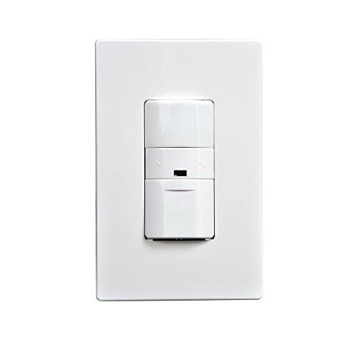 - Greengate OSW-P-010 0-10V Multi-Volt Occupancy Sensor Dimmer, White