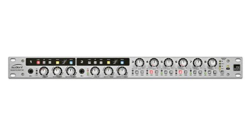 8 Channel Microphone Pre Amplifier - Audient ASP800 8 Channel Microphone Preamplifier and ADC with HMX & IRON