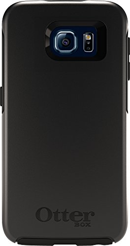 OtterBox SYMMETRY SERIES for Samsung Galaxy S6 - Retail Packaging - Black