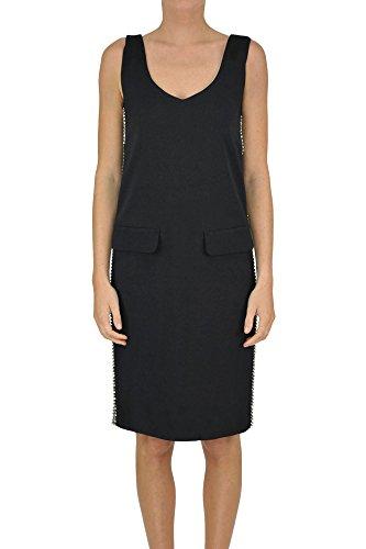 Twin-Set Women's Mcglvs003076e Black Viscose Dress by Twin-Set