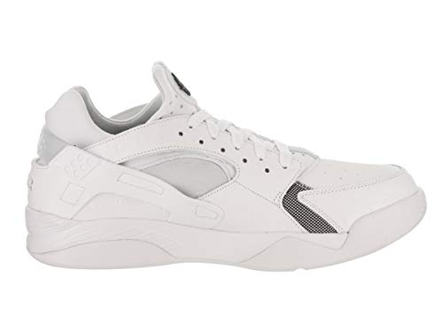 Air White Black Huarache Flight Low Basketball Schuh rqrvX