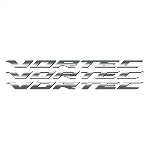 Vortec Hood Cowl Vinyl Decal Emblem Fits Chevy Silverado GMC Sierra Avalanche - Cowl Emblem