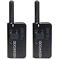 Kenwood Compact PKT-23 Bundle of 2 FM Portable Radios, 1.5 Watts, UHF, 4 Channel