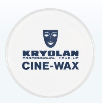 [Kryolan 5422 Cine-Wax 40g (Special Effects 3D Wax) Professional Grade] (Costume Makeup Wax)