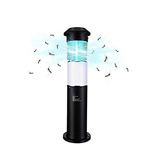 MKZWYY Electronic Insect Killer Bug Zapper with Dusk to Dawn Light Sensor and 5,000 Volt Powerful Killing Grid, for Outdoor Use