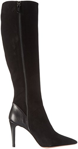 Oxitaly Women's Sissi 77 Long Boots Black (Nero) anOH4N0WR1