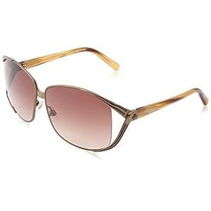 Spy Optic Women's Kaori Metal Sunglasses,Antique Brassw/ Carmel Frame/Bronze Fade Lens,one size
