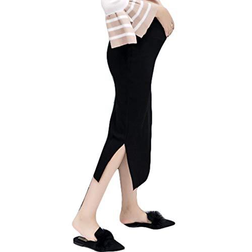 良い前述の退院Jocolate(ジョコレート) マタニティ スカート ロング 秋冬 タイトスカート ニットスカート スリット ウエストゴム 妊娠 妊婦 妊婦用 産前産後 おしゃれ