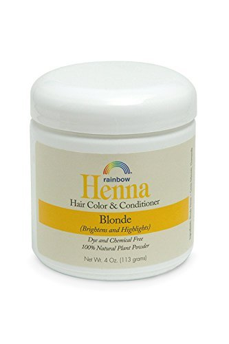 - Rainbow Research Henna Botanical Hair Color and Conditioner, Persian Blonde, 4 Ounce