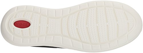 Pacer Homme Sneakers Crocs M black Literide Basses Noir white 066b fAqA5Ux