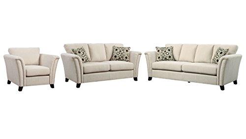 3 Piece Contemporary Sofa - 4