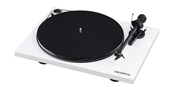 Pro-Ject Essential III Phono Tocadiscos, Velocidad 33/45 RPM ...