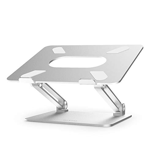 Laptop Stand, Boyata Laptop Holder, Multi-Angle Stand with Heat-Vent to Elevate Laptop,...