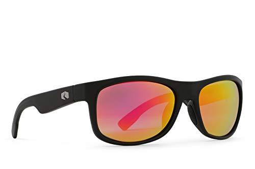 (Rheos Anhingas Floating Polarized Sunglasses | 100% UV Protection | Floatable Shades | Ideal for Fishing and Boating | Anti-Glare | Unisex | Gunmetal | Rose)