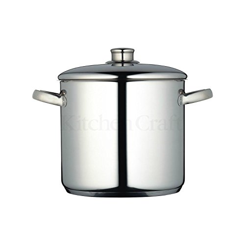 Kitchen Craft Stockpot - Masterclass - 22cm 7L (Pack of 2)