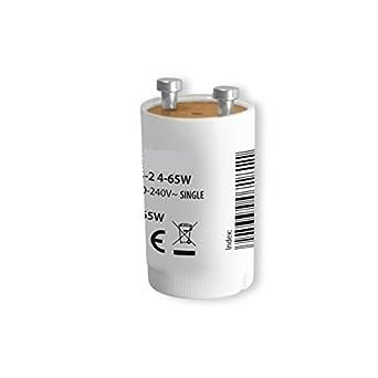 4-125W Sofortstarter 4 x Leuchtstoffröhren Schnell Starter 0,3s