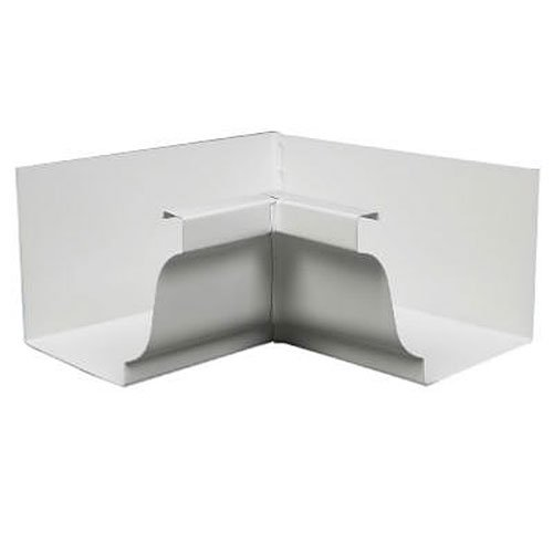 AMERIMAX HOME PRODUCTS 27201 5-Inch Aluminum Inside Mitre, White