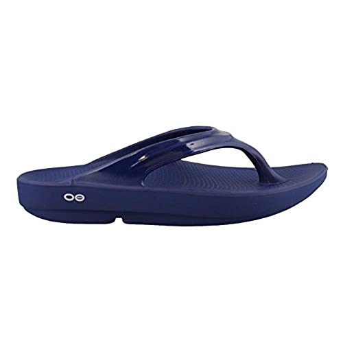 Cheap Sale 100% Authentic Oofos OOlala Thong Sandal(Women's) -Black Really Clearance Cheap 7Cmswgs9