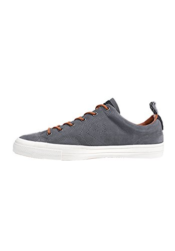 Converse Star Player Premium Suede Ox Herren Sneaker Grau