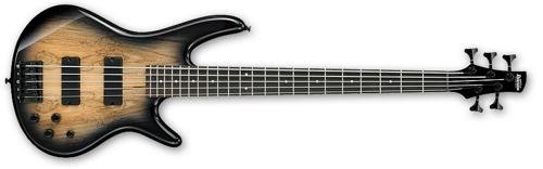 Used, Ibanez 5 String Bass Guitar, Right Handed, Natural for sale  Delivered anywhere in USA