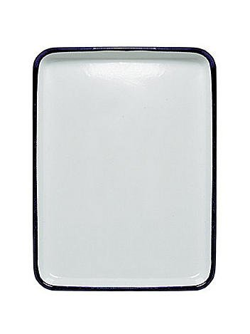 Jack Richeson Butcher Tray 11 in. x 15 in. oblong white [PACK OF 2 ]