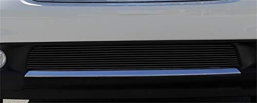 (T-Rex Grilles 25492B Horizontal Aluminum Black Finish Billet Bumper Overlay for Dodge Durango)