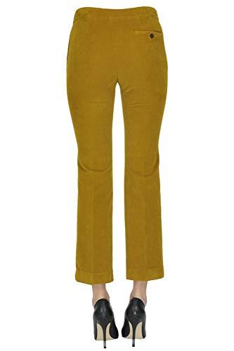 Giallo Donna Pantaloni Cotone MCGLPNS000004036I Incotex B7IHqxw