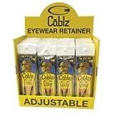 40pc Prepacked Cablz Eyewear Retainers Display