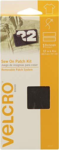 VELCRO Brand - Sew On Fasteners - Sew On Patch Kit 12