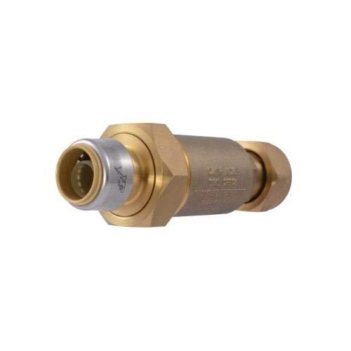 - Cash Acme BF5M0134SB, BF5 Dual Check Valve, Meter Swivel Nut Inlet (Pack of 4 pcs)