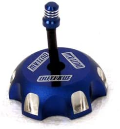 Blue Outlaw Racing Gas Fuel Cap with Vent Hose