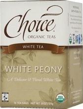 Choice Organic Teas White Peony (6x16 Bag) ()