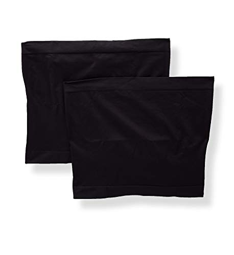 Playtex Cool Comfort Maternity Belly Band - 2 Pack (PLMTBB) S/M/Black/Black best to buy