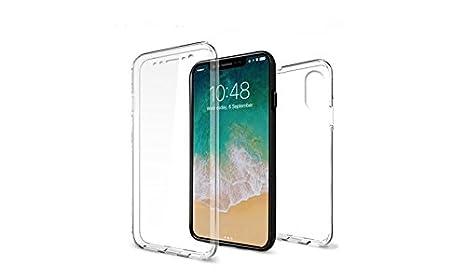 custodia iphone x fronte retro