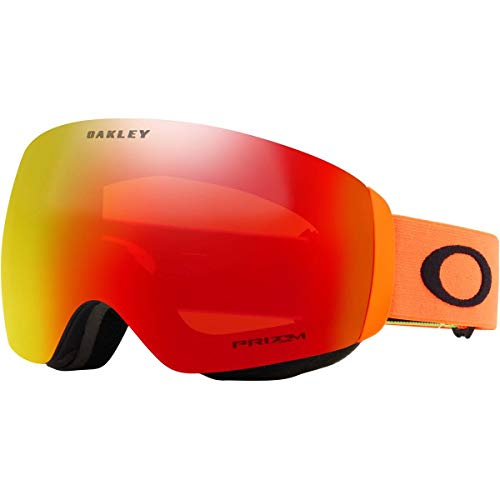 Oakley Flight Deck Asian Fit Snow Goggle, Team, Medium, used for sale  Delivered anywhere in USA