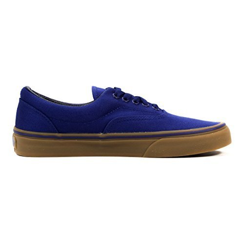 VANS Men's Shoes Era Canvas Blueprint/Gum Sneakers (4.5 Men's /6 Women's) (Blueprint Footwear)