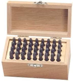 """product image for KnKut 36 PIece Letter and Number Punch Set - 5/32"""" (KNKKP856610) Category: Drill Bit Sets"""