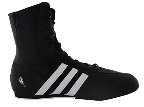adidas Box Hog 2 Mens Boxing Trainer Shoe Boot Black/White - US 9.5