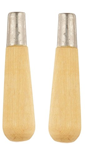 Nicholson Metal Ferruled Wooden File Handle, Size 4, 3-3/4