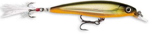 Rapala X-Rap 10 Fishing lure, 4-Inch, Tennessee Olive Shad