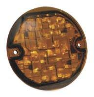 Kuryakyn ECE Compliant LED Turn Signal Inserts - 3-1/4 Flat - Turn Signals Kuryakyn Led
