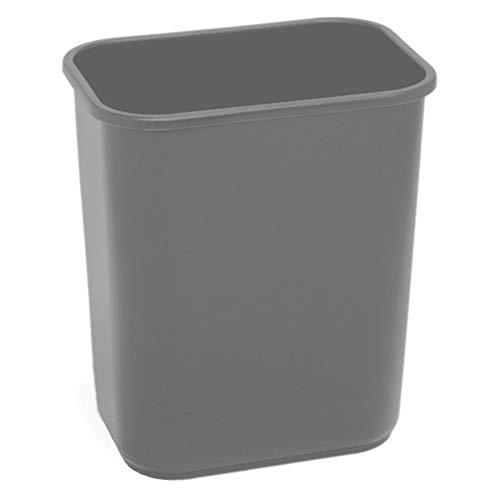 Wastebaskets Standard (Highmark(TM Standard Wastebasket, 3 1/4 Gallons, Silver)