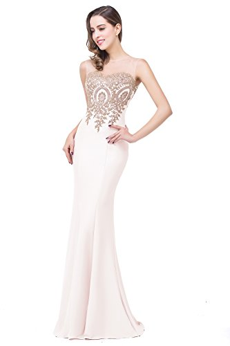 Design Brief Elegant Mermaid Sweetheart Evening Dress,Ivory,6