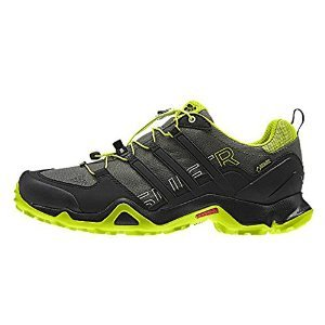 size 40 7b794 3eea3 Galleon - Adidas Terrex Swift R Gtx W Base Green   Black   Semi Solar Yellow  Women s Hiking Shoes - 7 D(M) US
