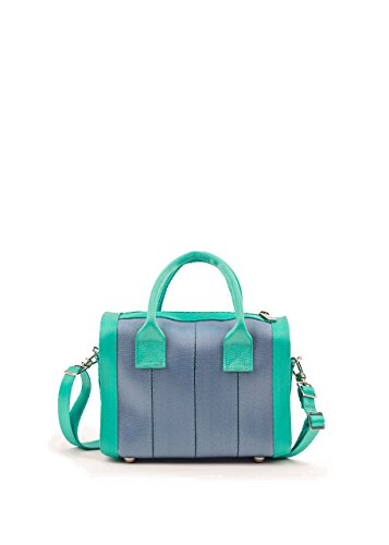 Harveys Seatbelt Bag Women's Mini Marilyn Satchel Morning Glory Handbag (Seat Belt Bag Mini)