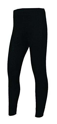 Polarmax Long Underwear - Polar Max Boys Polar 2 Midweight Youth Pant, Black, X-Small