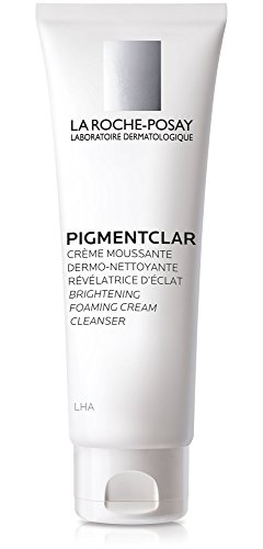 La Roche-Posay Pigmentclar Dark Spot Face Wash Brightening Foaming Cream Facial Cleanser with LHA, 4.2 Fl. Oz.